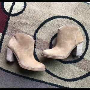 Awesome New Lucky Brand Eller Booties